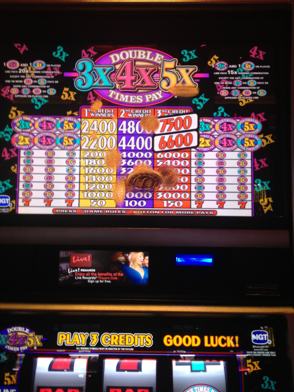 Maryland live casino slot denominations